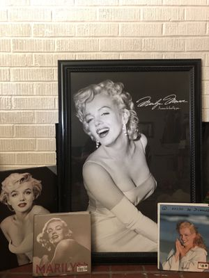 Marilyn Monroe wall pictures and photo books for Sale in Stockton, CA