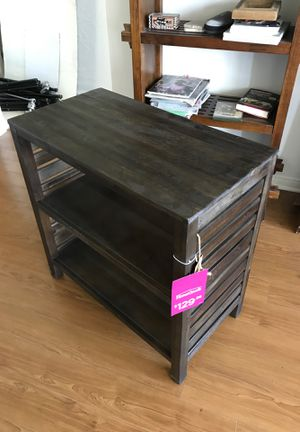 Small wood shelf - night stand for Sale in Irvine, CA