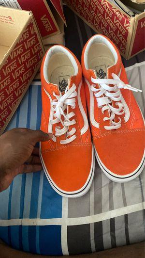 Orange Vans size 12.0 for Sale in Atlanta, GA