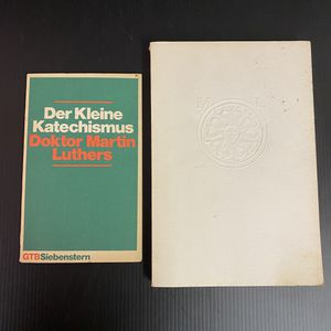 Martin Luther Reformation Books written in German for Sale in San Jose, CA