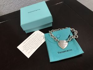 Tiffany Heart Bracelet for Sale in Tampa, FL