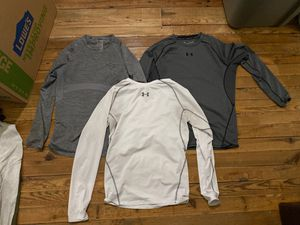 3 compression xl long sleeve shirts( gymshark, under armour for Sale in Bellefonte, PA