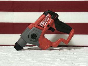 MILWAUKEE M12 FUEL CORDLESS 5/8in ROTARY HAMMER SDS PLUS TOOL ONLY for Sale in San Bernardino, CA