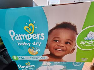 Pampers Diapers Size 5 for Sale in Goodyear, AZ