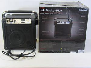 Ion Audio Job Rocker Plus Portable Heavy-Duty Bluetooth AM/FM Radio Speaker System Black 30 days Warranty. for Sale in Fontana, CA