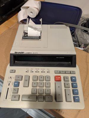 Sharp printing reciept calculator printer for Sale in Hicksville, NY