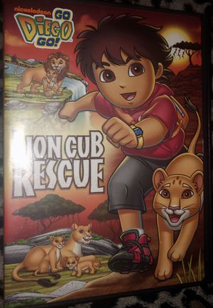 Go Diego Go DVDs Lion Cub Rescue and Arctic Rescue for Sale in Taylors, SC