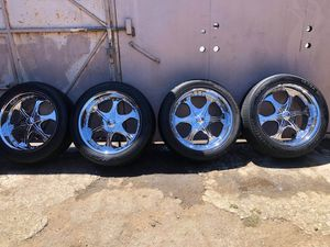 22s Wheels&tires for Sale in Corona, CA