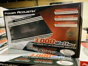 Power Acoustik 3,000 Monoblock Amp for Sale in San Bernardino, CA