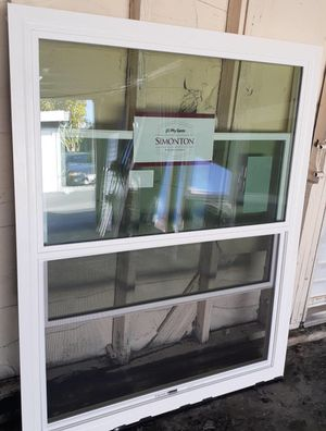 Brand new simonton retro fit OX window yes still available for a great price 553/4. X 43 3/4 for Sale in Buena Park, CA