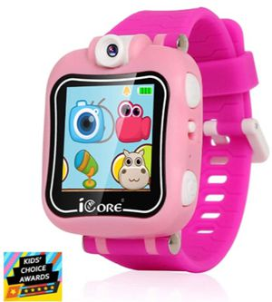 Kids Smart Watch, Rotatable Camera Smart Watch for Kids, Built-in Games Watches, Best Smartwatch Christmas Birthday Gifts for Boys Girls Ages 4-12 (P for Sale in Etiwanda, CA