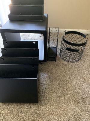 Black Desk Accessories for Sale in Willow Springs, IL