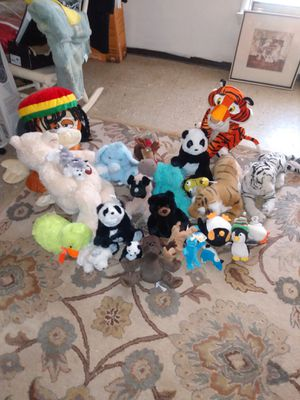 Lots of plush toys some with tags for Sale in Alexandria, VA