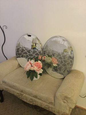 Pair of Oval Mirrors for Sale in Norwalk, CA