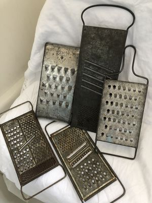 Cheese Graters a Vintage Collection for Sale in Salinas, CA