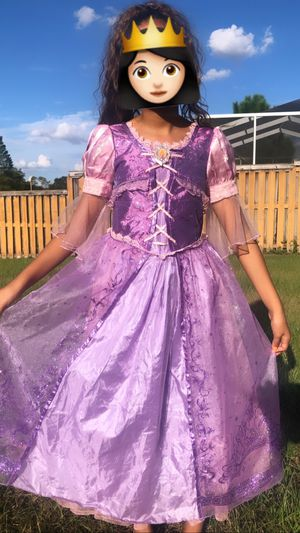 Disney store rapunzel size 10 costume Halloween for Sale in Brandon, FL