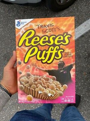 Travis Scott x Reese's Puffs cereal SOLD OUT- Look Mom I Can Fly for Sale in Winter Haven, FL