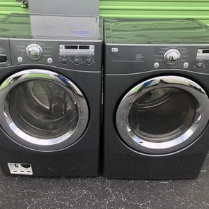 Washer And Dryer Excellent Condition Warranty for Sale in Doral, FL