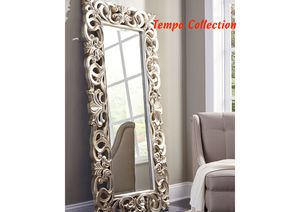 NEW, Lucia Antique Silver Finish Accent Mirror, SKU# A8010123 for Sale in Westminster, CA