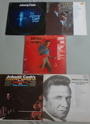 5 Johnny Cash Vinyl Records for Sale in Lemoore, CA