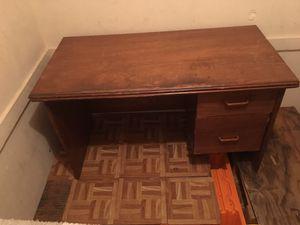 Midsize sofa and office desk for Sale in Pomona, CA