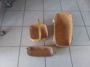 Longaberger baskets for Sale in Mesa, AZ