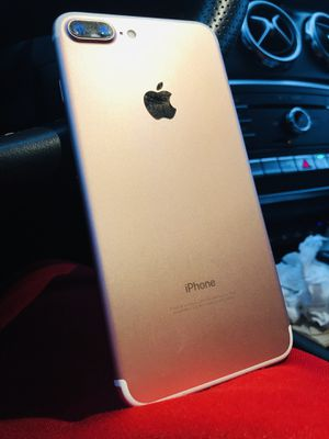 UNLOCKED iPhone 7 Plus 128GB Rose Gold | Any Company for Sale in Houston, TX