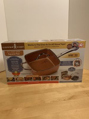 Copper Chef 9 1/2 inch Square Pan As Seen on TV for Sale in Weehawken, NJ