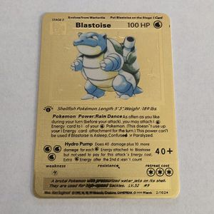 BLASTIOSE POKÉMON METAL CARD for Sale in Anaheim, CA