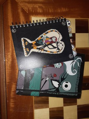 The nightmare before christmas planner and journal for Sale in Chicago, IL