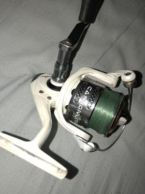 Bass pro shop johnny morris fishing reel for Sale in Sacramento, CA
