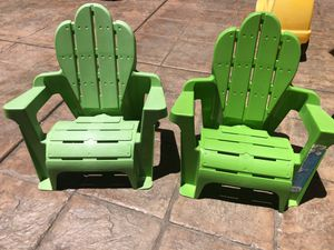Kids summer chairs outdoors toys for Sale in Chula Vista, CA