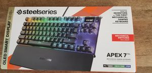 Steelseries Apex 7 tkl Mechanical Keyboard for Sale in Chula Vista, CA