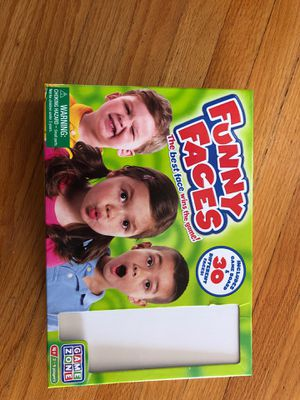 Funny faces board game for Sale in San Diego, CA