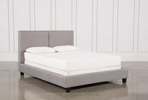 Living spaces queen bed plus mattress for Sale in Los Angeles, CA