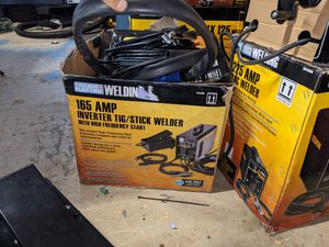 Chicago electric 165 tig welder for Sale in Wellford, SC