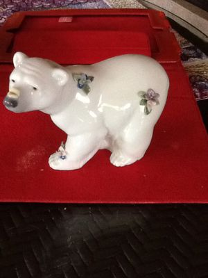 Lladro Polar Bear figurine for Sale in Apopka, FL