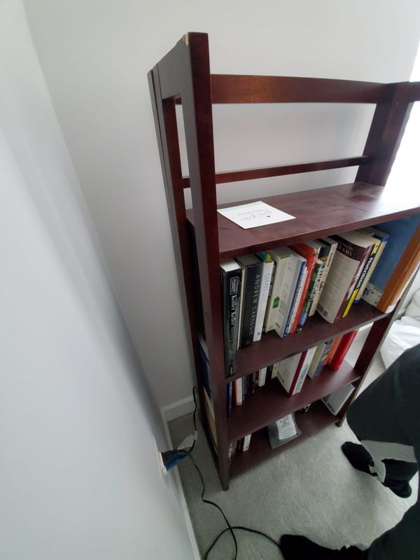 2 Book Shelves with Books !!