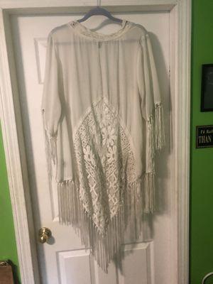 White Lace Kimono for Sale in South Attleboro, MA