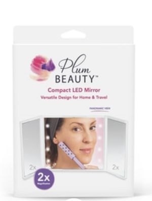 Plum beauty Compact LED Mirror for Sale in Alexandria, VA