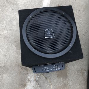 Sub Woofer And Amp for Sale in San Diego, CA