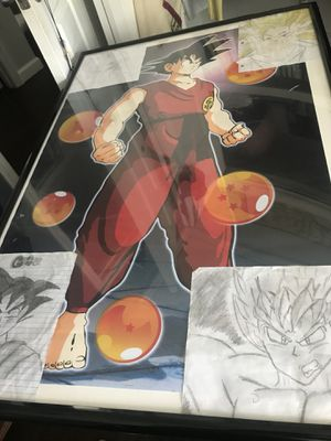 Dragon ball z poster for Sale in Tampa, FL