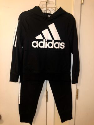 Original ADIDAS kids pullover hoodie set for Sale in The Bronx, NY