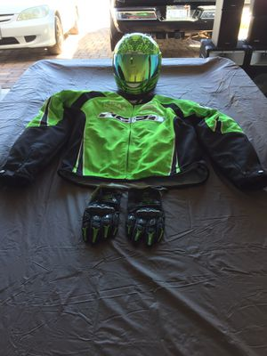 Motorcycle gear Helmet,Jacket,Gloves for Sale in North Las Vegas, NV