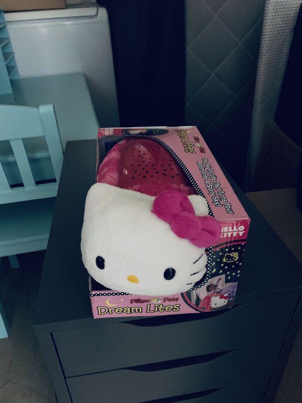 Hello Kitty Nightlight Pillow Pet