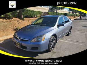 2007 Honda Accord Sdn for Sale in Moreno Valley, CA