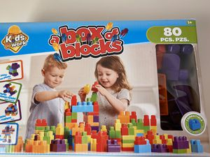 Box of blocks for Sale in Falls Church, VA