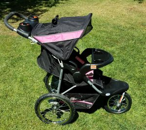 Baby Trend Expedition Jogger Stroller, Bubble Gum for Sale in Murrieta, CA