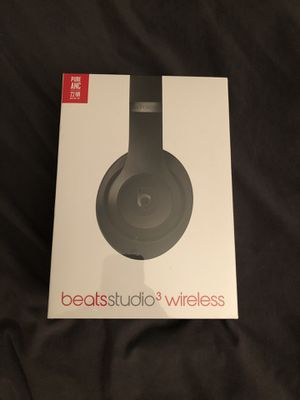 Beats Studio 3 Wireless - Black (Brand New) for Sale in Los Angeles, CA