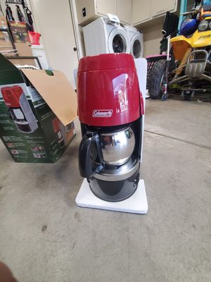 Coleman Propane Coffee Maker for Sale in Ceres, CA